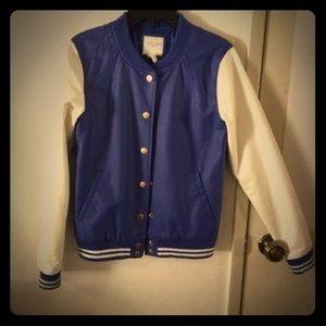 Bomber/ letterman jacket